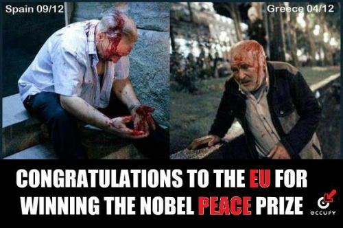 europe,eu,union europeenne,prix,nobel,espagne,grèce,sang